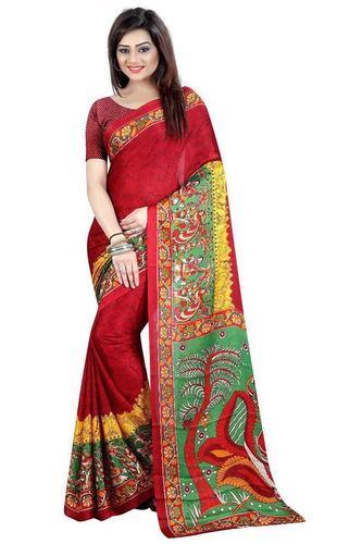 Kalamkari Designer Printed Saree