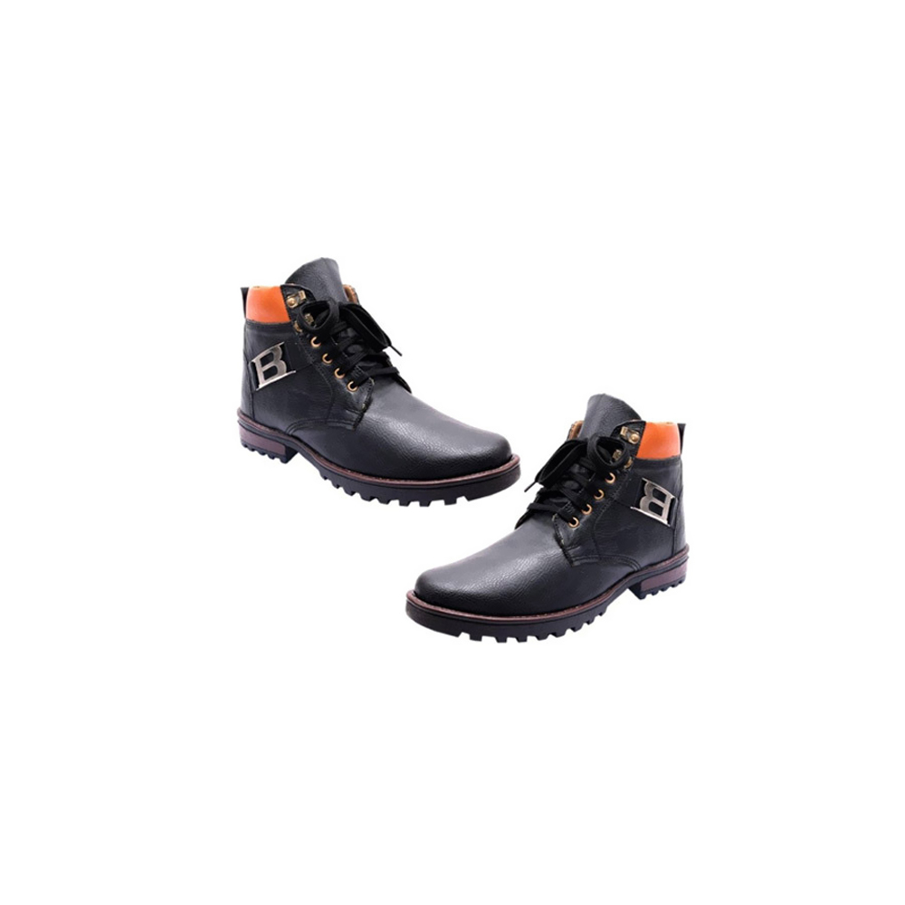 Synthetic Leather Men's High Boot