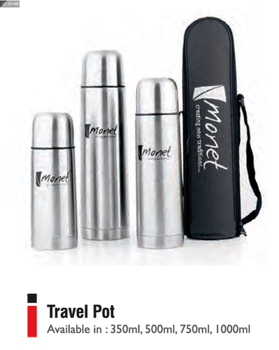 TRAVEL POT 350, 500, 750, 1000 ML