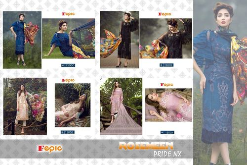 Fepic Lunching New Pakistani Salwar Kameez Catalog