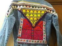 Embellished Denim Banjara Jacket
