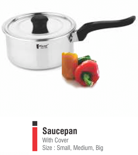 SAUCEPAN  SMALL MED BIG