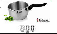BELLY SAUCEPAN  SMALL MED  BIG