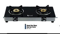SMART 2 BURNER GLASS TOP