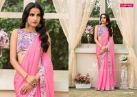 Georgette Fancy Designer Saree