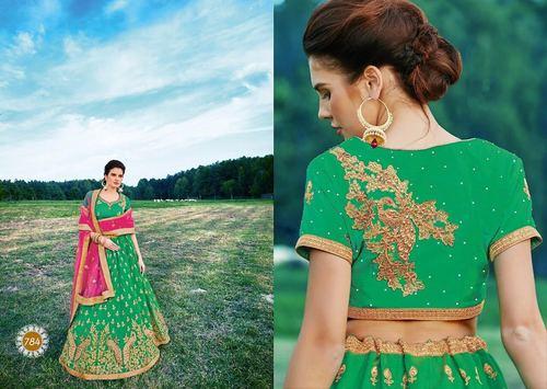 Designer Bridal Party Wear Lehenga Choli