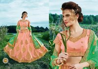 Designer Banarasi Silk Party Wear Lehenga Choli