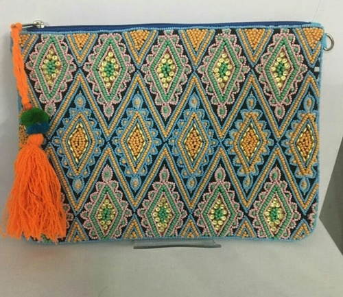 Elegant Beaded Designer Bag