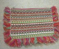 Ethnic Vintage Fringes clutch