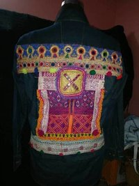 Tribal Boho Banjara Denim Jacket