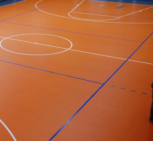 Basketball Court Vinyl Flooring