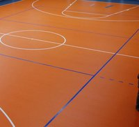 Basketball Court Vinyl Flooring