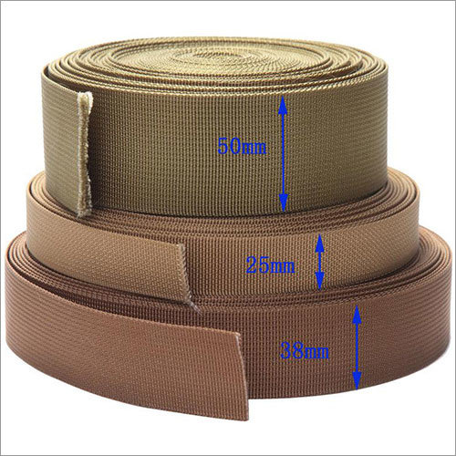 Nylon Webbing Brown