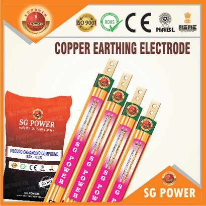 Copper Earthing Electrode Certifications: Ce