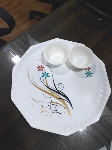 Hexagon Catering Plate