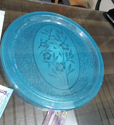 Transparent Catering Plate