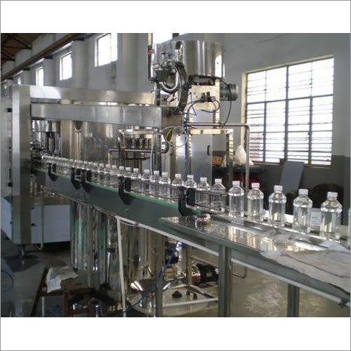 Bottle Raising Mineral Water Filling And Capping Machine