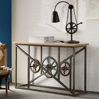 Console Table with Wheels