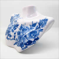Blue And White Porcelain Showpiece