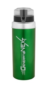 Gym Water Bottle Green
