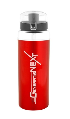 Gym Water Bottle Red-1