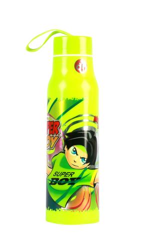V Water Bottle Green