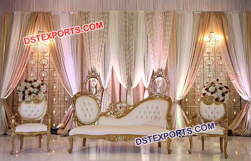 Stylish Wedding Stage Sofa Set