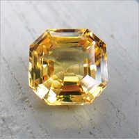 Lemon Yellow Sapphire Stone