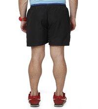Men's Black & blue Shorts