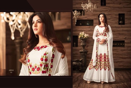 Heavy Embroidered Designer Suit