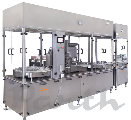 Injectable Powder Filling Machine with Laminar