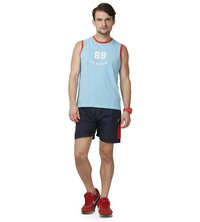 Mens Nevy & Red Shorts
