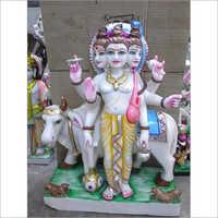 Lord Dattatrey Marble Statue