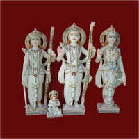 Ramdarbar Marble Family Sculpture