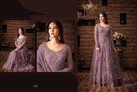 Designer Net Embroidered Salwar Kameez