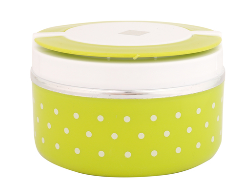 1 Piece lunch Box Green