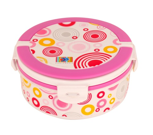 Lunch Box Container Pink