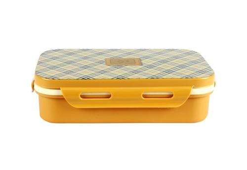 School Lunch Box Brown