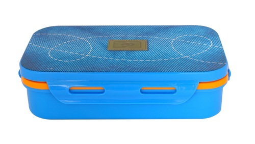 School Lunch Box Blue