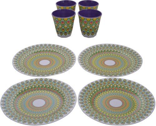 Melamine Snack Plate