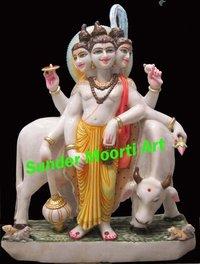 Lord Dutta marble statue