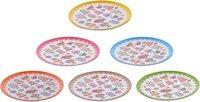 Plates set of 6