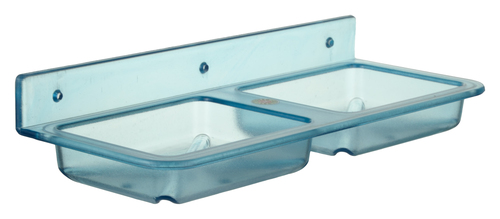 Plastic Double Soap Dish