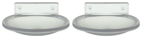 Soap Dish - Oval Clear