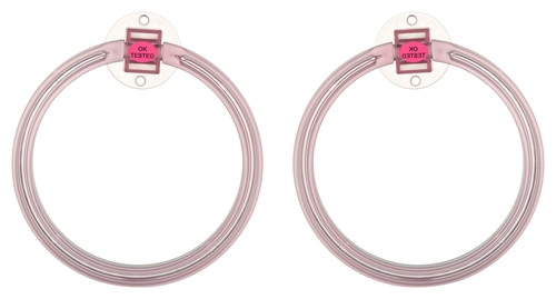 Towel Ring - Round Pink