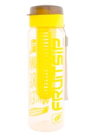 Infuser Water Bottle Yellow