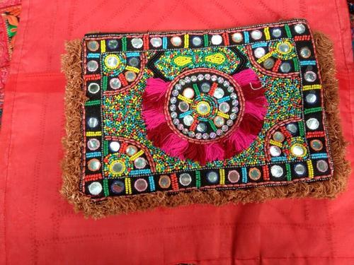 Ethnic Bead Clutches Embroidered