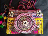 Ethnic Bead Clutches