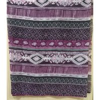 Multi colour chiffon printed scarves