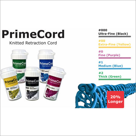 Prime Cord Retraction Cord